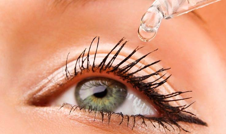 Hydrated Clear Healthy Moist Eye
